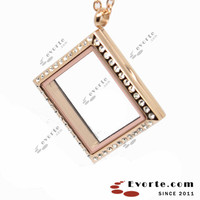 L068 stainless steel floating glass memory lockets,clear Glass lockets