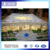 commercial building scale models with interior design