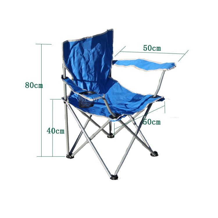 Pliable camp chaise avec sac de transport