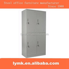Steel material Knock down 4 compartment locker