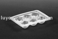 plastic egg holder, egg tray