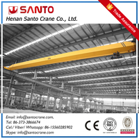 Ce Iso Approved Electric Hoist Steel Workshop Ld Driving 10T Overhead Traveling Crane