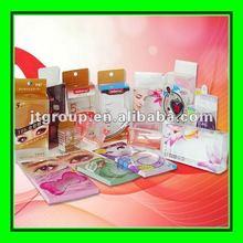 custom design printed recycled plastic packing box