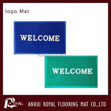 Anti-slip Customed Logo Door Mat/Nylon Logo Carpet