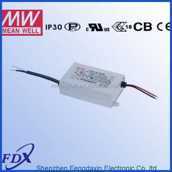 Meanwell PCD-16-1050A triac dimmable led driver