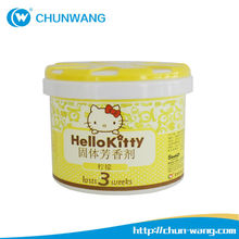 Alibaba china best sell OEM&pravite label100g Gel air aroma container,Air freshener,Canned air freshener