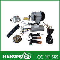 China india electric rickshaw / tricycle motor conversion kit 48V 500W---800W