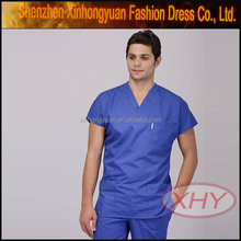 high quality custom man nurse uniform design