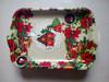 decorative christmas plastic plates