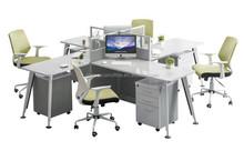 pc workstation dental workstation office workstation layout SY-AK021