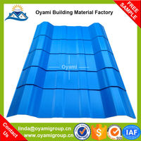 Advanced Materials strong fire resistance anti-uv pvc corrugated roof sheet
