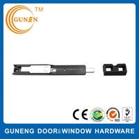 Surface mounted brass door window push bolt