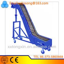large capacity Large Conveying Capacity metal step conveyor belt