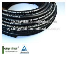 zhuji enpaker de látex flexible tubo de goma elástica