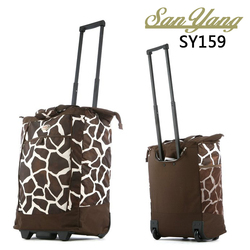 Hot Sale High Quality Waterproof Fashion Tourism Women And Men Travel Trolley Wheels Rolling Luggage Bags
