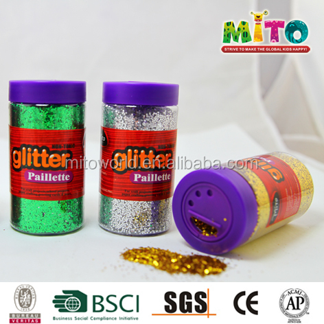 how to make eco friendly glitter