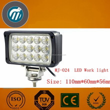Square 45W LED Tuning Working Light for Tractor/Jeep/Suv/Pick-up