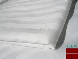 Hotel Bedding Set/cotton bedsheets stripe fabric