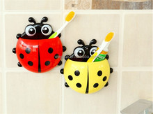 lovely creative toothbrush holder toothpaste powerful suction toothbrush holder toothbrush kit combination