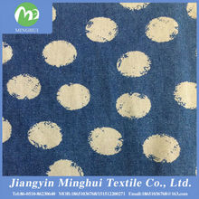 hot selling high quality and cheap price printed denim fabric