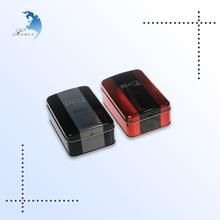Factory Price Best Selling Cheap Digital Printed Rectangular Hinged Metal Trinket Box