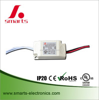 300ma 9w non-waterproof constant current led driver ce/ul/rohs approved