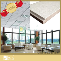 Friendly Acoustic Interior Mineral Fiber Ceiling