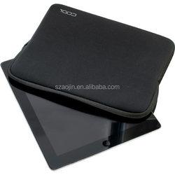 "Light 10""-17"" neoprene laptop sleeve wholesale with customized brand printed"