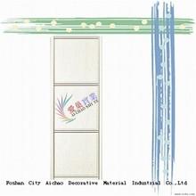 wood door designs in pakistan sliding wardrobe door with IS from Guangdong