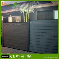 Nice DIY fence panels UV-protected, anti-mildew, anti-freezing and cracking garden Wood plastic composite garden fence