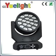 china moving head light 19pcs bee eye led moving head beam wash light