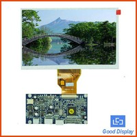 7inch 800x480 VGA,Video LCD with AD board Cost-effective LCD module GDN-D567AT- GTI070TN90