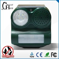 GH-192C Newest scare sound and led flashing solar pest control