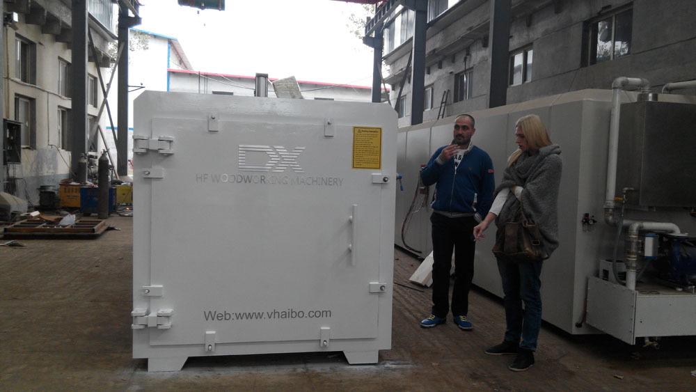 vacuum oak timber drying kiln,smart plc controlled drying kiln