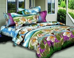 twin/full/queen/kin Size and Home Use 100% polyester cotton bedsheet