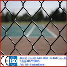 2015hot sale ! High quality cheap used chain link wire mesh fence for sale (professional manufacturer)