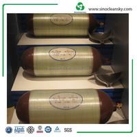 CNG Composite Cylinder Type 2 Cylinder, 356mm Diameter Cylinder for Vehicle