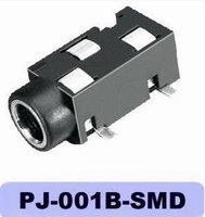 3.5mm phone jack PJ-001B-SMD,female,4pin phone jack