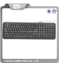 2015 NEW cheapest USB or PS2 computer standard wired keyboard