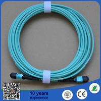 UL list MPO single mode fiber optic patch cord/MTP Jumper