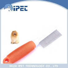 Portable and convenient pin comb pet grooming