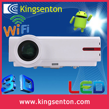 Goldern supplyer 3d wifi android mobile phone projector led High resulotion projector with trade insurance
