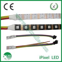 New apa102 pixel rgb led strip lighting 60leds/m dc5v ce and rohs approval