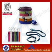 Factory direct customized pet accessories dog collar and leash