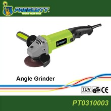 PRESCOTT professional power tools,100mm 750w powerful angle grinder,cutting disc grinding machine,polishing wheel grinder PT0307