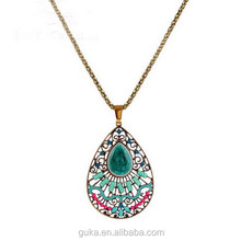 The Lasted Design Alloy Metal Enamel Necklace Fashion Jewellery