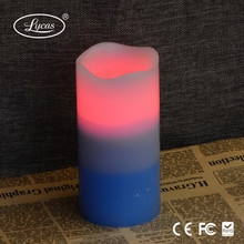 Factory wholesale Wax LED yankee led candle