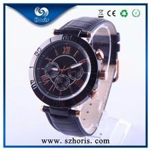 2014 Classic Roman numeral Dial Cheap Chronograph Mens watch, vogue chronograph watch