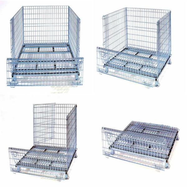 Treillis soud galvanis fil bo te m tal cage bac de stockage de conteneurs equipements de cargo - Treillis soude galvanise ...