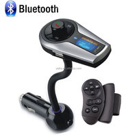 Yaika w398 handfree bluetooth car mp3 player fm transmitter with led display support TF